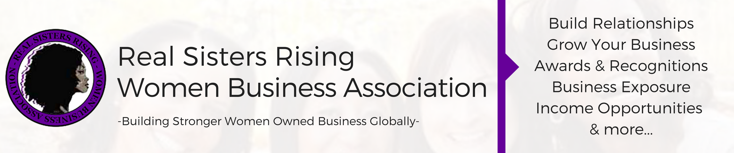 Real Sisters Rising Women Business Association